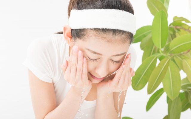 洗顔の正しい方法