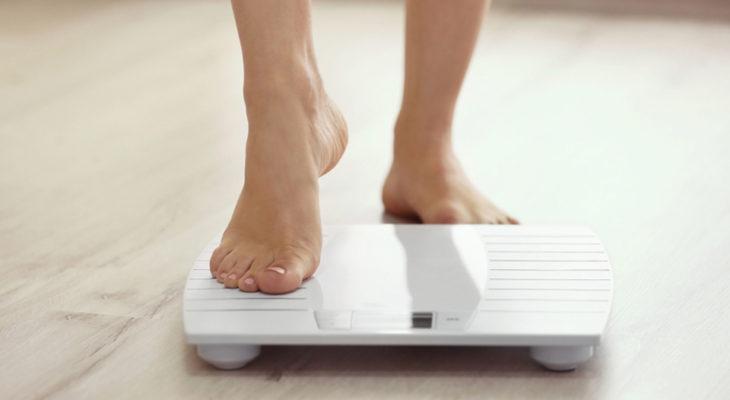 体重測定ダイエット1