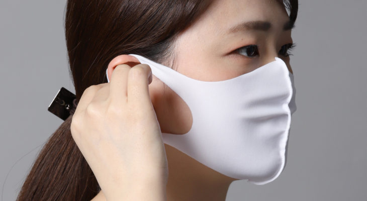 使い捨てマスクに注意